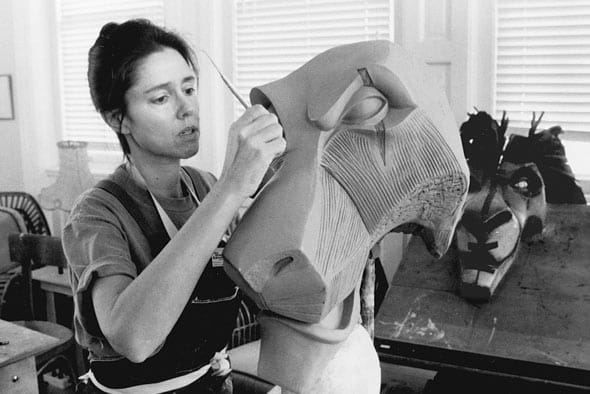 <p>It took 37,000 hours to build the puppets and masks.</p> …